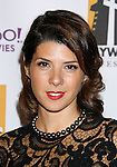 BEVERLY HILLS, CA. - October 27: Actress Marisa Tomei arrives at the 12th Annual Hollywood Film Festival Awards Gala at the Beverly Hilton Hotel on October 27, 2008 in Beverly Hills, California.