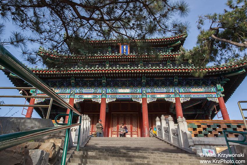 Temple at Jingshan Park, Beijing, China