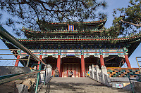 Temple at Jingshan Park, Beijing, China