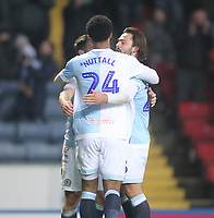 Blackburn Rovers Joe Nuttall celebrates scoring his sides second goal <br /> <br /> Photographer Mick Walker/CameraSport<br /> <br /> The EFL Sky Bet Championship - Blackburn Rovers v Ipswich Town - Saturday 19 January 2019 - Ewood Park - Blackburn<br /> <br /> World Copyright © 2019 CameraSport. All rights reserved. 43 Linden Ave. Countesthorpe. Leicester. England. LE8 5PG - Tel: +44 (0) 116 277 4147 - admin@camerasport.com - www.camerasport.com