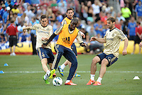 Chelsea F.C training at Busch Stadium, St Louis ahead of the friendly game verus Manchester City..Chelsea training.