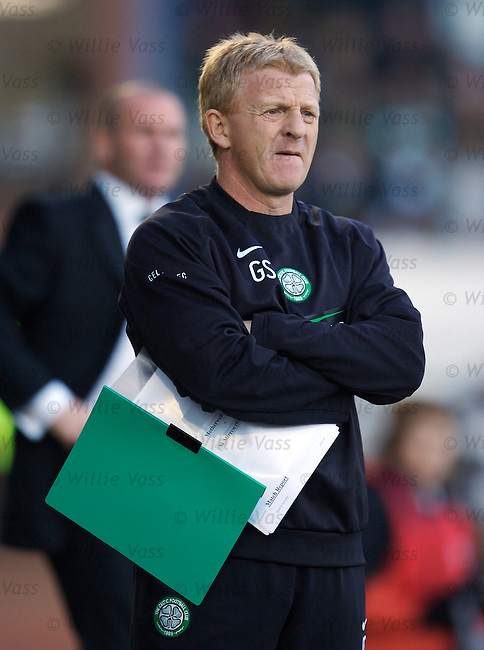 Gordon Strachan, Celtic.stock season 2006-2007.pic willie vass