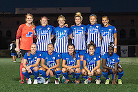 Allston, MA - Saturday Sept. 24, 2016: Boston Breakers starting eleven prior to a regular season National Women's Soccer League (NWSL) match between the Boston Breakers and the Western New York Flash at Jordan Field.