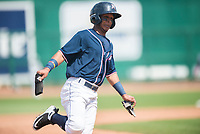 NWA Democrat-Gazette/CHARLIE KAIJO Northwest Arkansas Naturals left fielder Anderson Miller (6) rounds third during a baseball game, Sunday, May 13, 2018 at Arvest Ballpark in Springdale.