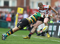 Aviva Premiership Rugby match between Gloucester Rugby v Northampton Saints at Kingsholm, Gloucester