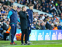 Middlesbrough manager Jonathan Woodgate and coach Leo Percovich watch on<br /> <br /> Photographer Alex Dodd/CameraSport<br /> <br /> The EFL Sky Bet Championship - Leeds United v Middlesbrough - Saturday 30th November 2019 - Elland Road - Leeds<br /> <br /> World Copyright © 2019 CameraSport. All rights reserved. 43 Linden Ave. Countesthorpe. Leicester. England. LE8 5PG - Tel: +44 (0) 116 277 4147 - admin@camerasport.com - www.camerasport.com