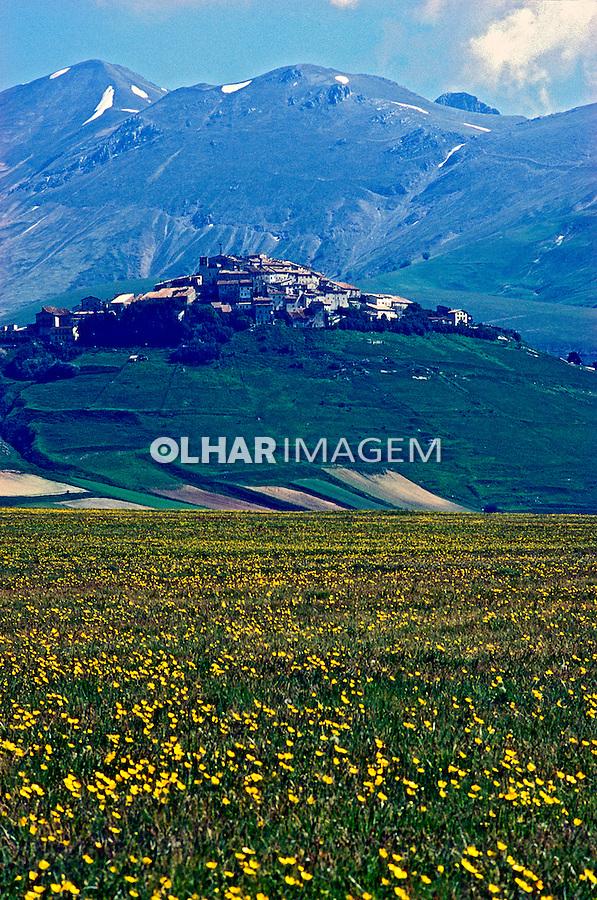 Casteluccio di Norcia, Umbria. Itália 2002. Foto de Vinicius Romanini.