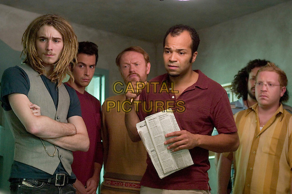 GRANT MONOHON, JOHN BOYD, JARED HARRIS, JEFFREY WRIGHT, JOSEPH D. REITMAN & ETHAN COHN.in Lady in the Water.*Editorial Use Only*.www.capitalpictures.com.sales@capitalpictures.com.Supplied by Capital Pictures.