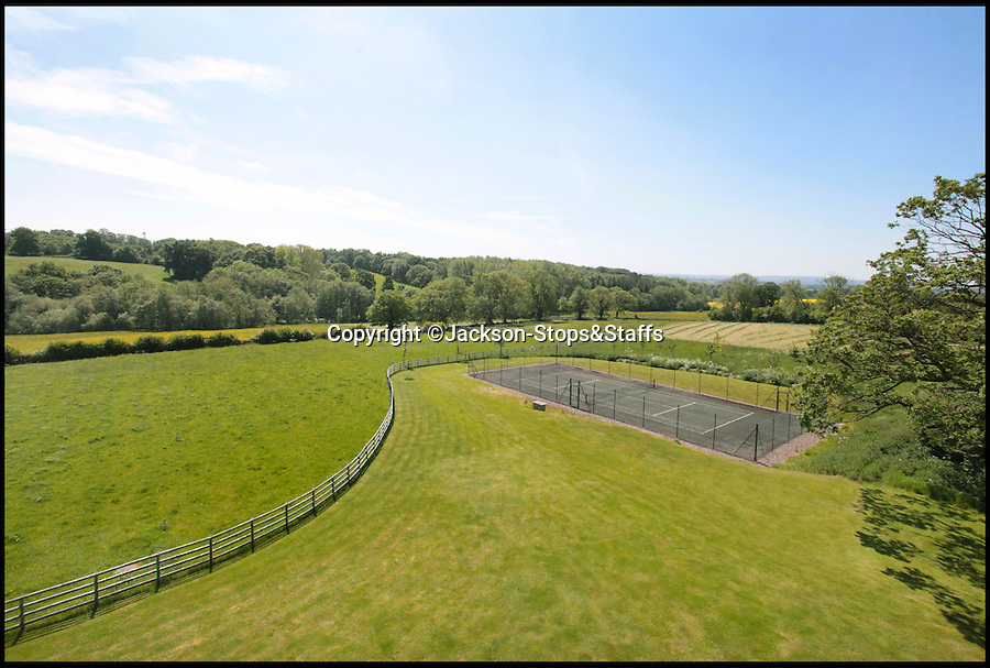 BNPS.co.uk (01202 558833)<br /> Pic: Jackson-Stops&amp;Staff/BNPS<br /> <br /> Tennis court and 26 acres...<br /> <br /> For sale - Super home with its own leisure centre attached.<br /> <br /> The buyers of this stunning country property will never need to leave home again - with their own leisure complex at their fingertips.<br /> <br /> Birchwood House in Hoar Cross, Staffs, is a bespoke five-bedroom house that makes the most of the incredible countryside surrounding it with floor to ceiling windows in most rooms.<br /> <br /> But the really unusual selling feature is its unsurpassed leisure suite with a purpose-built gym, 15-metre swimming pool, sauna and steam room. <br /> <br /> It might save you a fortune in gym fees, but any wannabe owners will need &pound;2.75million to get their hands on this cutting edge, contemporary pad.<br /> <br /> The house also has a media room which currently has a pool table and a home cinema, meaning you really could settle in for the long haul.