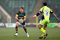 Piers Francis of Northampton Saints in possession. Aviva Premiership match, between Northampton Saints and Sale Sharks on March 3, 2018 at Franklin's Gardens in Northampton, England. Photo by: Patrick Khachfe / JMP