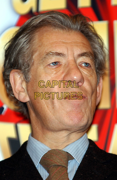 """IAN McKELLAN.attends launch of """"Get Into London Theatre"""" at Criterion Theatre.www.capitalpictures.com.©Capital Pictures"""