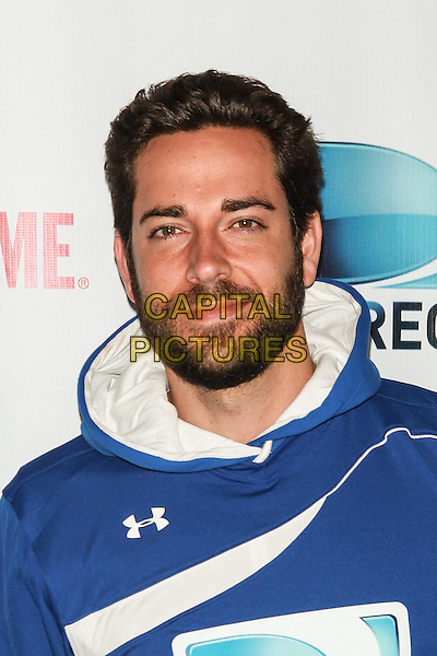NEW YORK, NY - FEBRUARY 1: Zachary Levi attends the DirecTV Beach Bowl at Pier 40 on February 1, 2014 in New York City. <br /> CAP/MPI/COR<br /> &copy;Corredor99/ MediaPunch/Capital Pictures