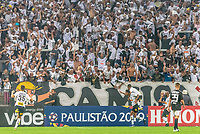 SÃO PAULO, SP, 17.02.2019 - CORINTHIANS-SÃO PAULO - Gustavo, jogador do Corinthians comemora seu gol durante partida contra o São Paulo em jogo válido pela 7ª rodada do Campeonato Paulista 2019 na Arena Corinthians em São Paulo, neste domingo, 17. (Foto: Anderson Lira/Brazil Photo Press)