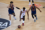 3rd November 2017, Palau Blaugrana, Barcelona, Spain; Turkish Airlines Euroleague Basketball, FC Barcelona Lassa versus Olympiacos Piraeus;  #1 MCLEAN, JAMEL of OLYMPIACOS PIRAEUS in action during the match of round 5 of regular season in the 2017/2018 Turkish Airlines EuroLeague