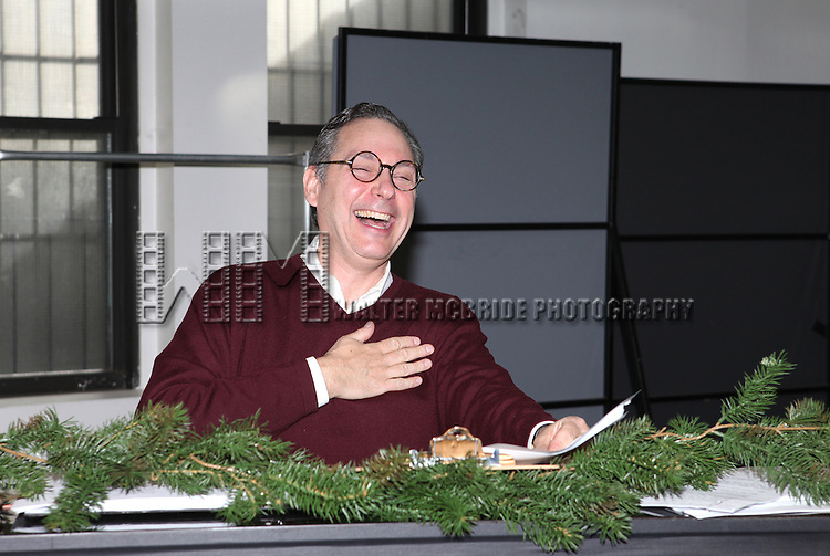 Kevin Pariseau attending the Rehearsal for the Bucks County Playhouse production of 'It's a Wonderful Life - A Live Radio Play' at their rehearsal studios in New York City on December 5, 2012.