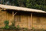 Bamboo house near Bajawa, Flores