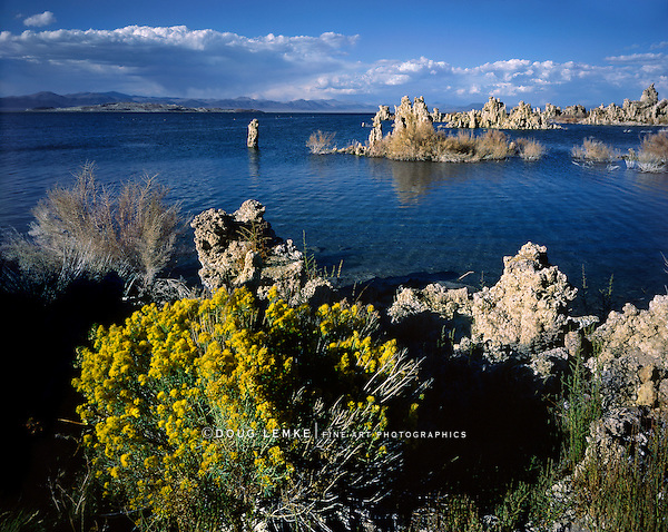 Tufa Towers At Mono Lake, California