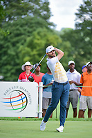 Kyle Stanley (USA) watches his tee shot on 11 during Saturday's round 3 of the World Golf Championships - Bridgestone Invitational, at the Firestone Country Club, Akron, Ohio. 8/5/2017.<br /> Picture: Golffile | Ken Murray<br /> <br /> <br /> All photo usage must carry mandatory copyright credit (&copy; Golffile | Ken Murray)
