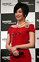 """May 31, 2016, Tokyo, Japan - Cast of Amazon Japan's original drama """"Hapimari, Happy Marriage!?"""" Norika Fujiwara smiles at a promotional event for Amazon Prime Video in Tokyo on Tuesday, May 31, 2016. Amazon Japan announced they would increase original contents for Amazon' video distribution service in Japan.      (Photo by Yoshio Tsunoda/AFLO)"""