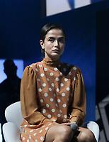 SAO PAULO, SP - 06.12.2018 - CCXP 2018 - O atriz Maria Casadeval durante a Comic Con 2018 na S&atilde;o Paulo Expo, na zona sul de S&atilde;o Paulo na tarde desta quinta-feira (06).<br /> <br /> (Foto: Fabricio Bomjardim / Brazil Photo Press)