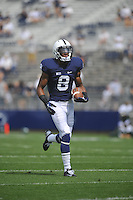 01 September 2012:  Penn State WR Allen Robinson (8)..The Ohio Bobcats defeated the Penn State Nittany Lions 24-14 at Beaver Stadium in State College, PA..