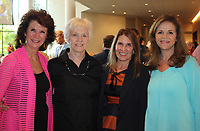 NWA Democrat-Gazette/CARIN SCHOPPMEYER Cynthia Coughlin (from left) Mary Lynn Reese, Pamm Prebil and Barb Putman celebrate the Walton Arts Center's 25th anniversary.