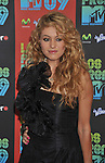 UNIVERSAL CITY, CA. - October 15: Paulina Rubio attends Los Premios MTV 2009 Latin America Awards held at the Gibson Amphitheatre on October 15, 2009 in Universal City, California.