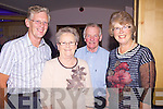 Enjoying the live music last Saturday night in the Golf Hotel, Ballybunnion for the Country Music Festival was l-r:Pat McNamara(Clare), Teresa and Michael Mulvihill (Lisselton) and Mary McNamara(Clare)