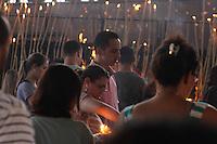 APARECIDA, SP - 22.09.2013 - SANTUARIO NACIONAL NOSSA SENHORA APARECIDA - Movimentação de devotos no Santuario Nacional de Aparecida do Norte neste domingo, 22. (Fotos Carlos Pessuto/Brazil Photo Press).