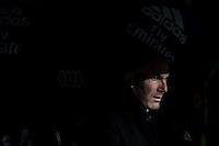 Zinedine Zidane coach  of Real Madrid  during the match of Spanish La Liga between Real Madrid and UD Las Palmas at  Santiago Bernabeu Stadium in Madrid, Spain. March 01, 2017. (ALTERPHOTOS / Rodrigo Jimenez) /NORTEPHOTOmex