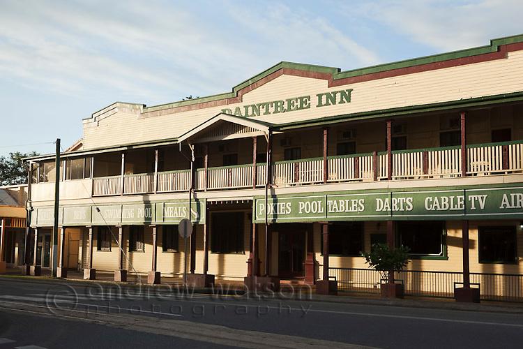The historic Daintree Inn.  Mossman, Queensland, Australia