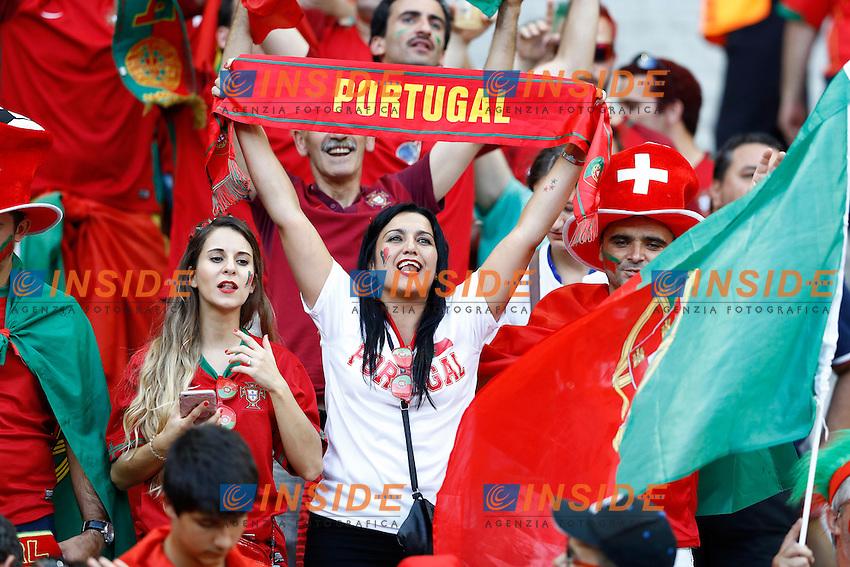 Tifosi Portogallo Portugal supporters<br /> Paris 10-07-2016 Stade de France Football Euro2016 Portugal - France / Portogallo - Francia Finale/Finals<br /> Foto Matteo Ciambelli / Insidefoto