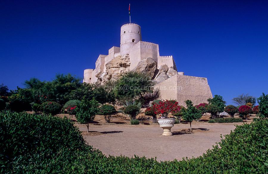 Nakhl, Oman.  Nakhl Fort.