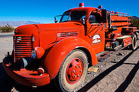United States, California, Death Valley. Old truck at Stovepipe Wells