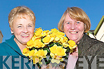 Flower power: Julie Gleeson and Kay Hanley of the Listowel Cancer Support Group, who are distributing daffodils to volunteers at the Listowel Arms Hotel on Wednesday, February 20th at 8pm, in time for the Irish Cancer Society's Daffodil Day on March 7th.   Copyright Kerry's Eye 2008