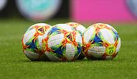 Bälle liegen bereit - 10.06.2019: Abschlusstraining der Deutschen Nationalmannschaft vor dem EM-Qualifikationsspiel gegen Estland, Opel Arena Mainz