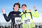 Anne Moynihan and Catherine Wharton  at the Valentines 10 mile road race in Tralee on Saturday.