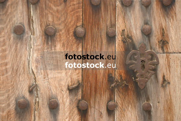 ancient wooden door<br />