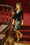 Princess Letizia of Spain attends the Rare (strange) Illnesses Day official celebration and Awards at Senate of Spain in Madrid, Spain. February 28, 2014. (ALTERPHOTOS/Victor Blanco)