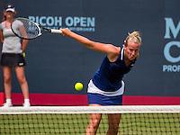 Den Bosch, Netherlands, 08 June, 2016, Tennis, Ricoh Open, Richel Hogenkamp (NED)<br /> Photo: Henk Koster/tennisimages.com