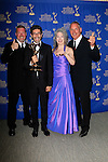 BEVERLY HILLS - JUN 22: Jill Mitwell, Gary Donatelli, Habib Azar, Fritz Brekeller, with the award for Outstanding Drama Series Directing Team at The 41st Annual Daytime Emmy Awards Press Room at The Beverly Hilton Hotel on June 22, 2014 in Beverly Hills, California