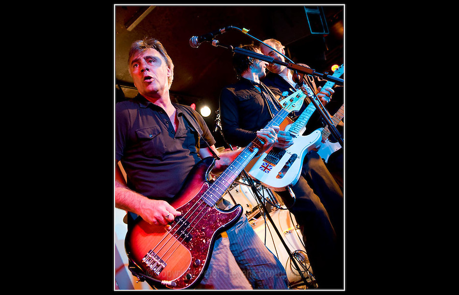 Glen Matlock, Steve Diggle & Mick Jones - Making the Modern Scene 2 - Terry Rawlings Benefit - 100 Club - 27-07-2009