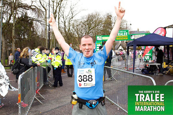 David Slattery 388, who took part in the Kerry's Eye Tralee International Marathon on Sunday 16th March 2014.