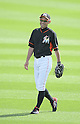 Ichiro Suzuki (Mariners),<br /> MARCH 3, 2015 - MLB : Ichiro Suzuki of the Miami Marlins is seen before a spring training practice game in Juliter, Florida, United States.<br /> (Photo by AFLO)