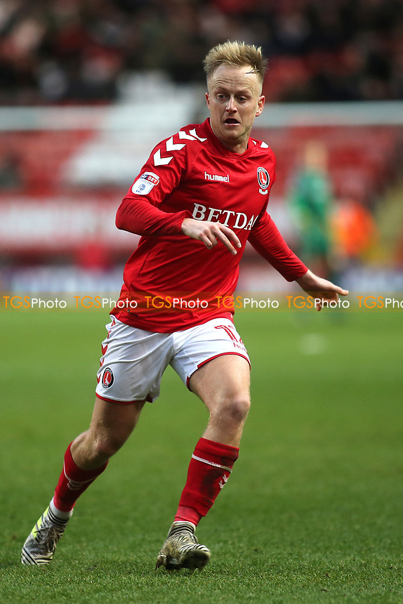 Ben Reeves of Charlton Athletic during Charlton Athletic vs Blackpool, Sky Bet EFL League 1 Football at The Valley on 23rd December 2017