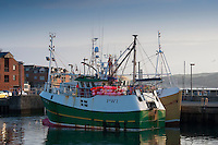 Fishing boats at Padstow, Cornwall