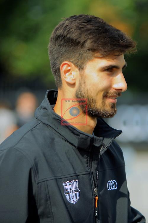 AUDI Premium Partner del FC Barcelona.<br /> Andre Gomes.