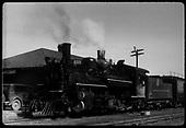 #473 K-28 at Antonito station<br /> D&amp;RGW  Antonito, CO