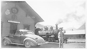 D&amp;RGW #456 at Silverton depot in late 1930s.<br /> D&amp;RGW  Silverton, CO  1937-1939