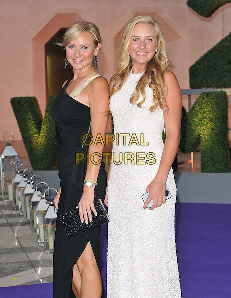 guest &amp; Anastasia Potapova at the Wimbledon Champions Dinner, The Guildhall, Gresham Street, London, England, UK, on Sunday 10 July 2016.<br /> CAP/CAN<br /> &copy;CAN/Capital Pictures
